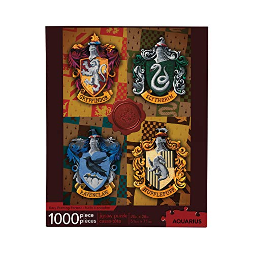 Harry Potter Crests 1000-Piece Jigsaw Puzzle