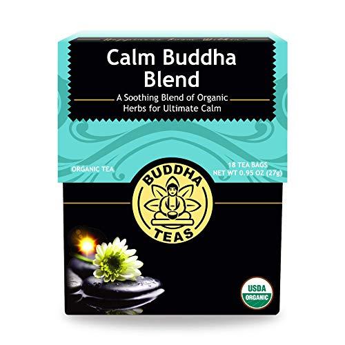 Buddha Teas Organic Calm Buddha Blend Tea 18 Bags
