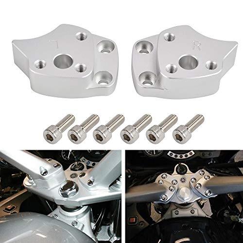 MUJUN Reserve Motorrad-Lenker Riser Spacer-Kit for Yamaha FJR1300 FJR 1300 2001 2002 2003 2004 2005 Lenker Riser Clamp