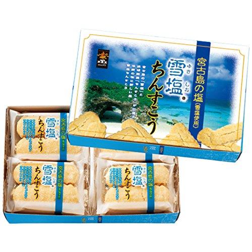 沖縄 土産 雪塩ちんすこう(小) 1箱 (国内旅行 日本 沖縄 お土産)