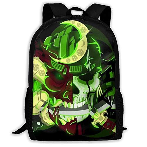 Anime One Piece Mochila de viaje ligera mochila al aire libre escuela universidad bolsa durable impermeable computadora mochila niños niñas