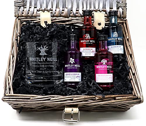 Personalised Whitley Neill Gin Gift Hamper