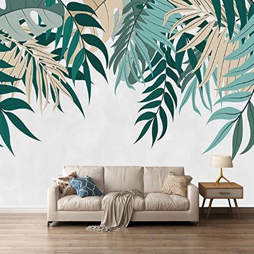 3D autoadhesivo papel pintado fotografico IKEA estilo hoja textura nórdica fresca minimalista TV fondo pared revestimiento dormitorio sala papel tapiz mural