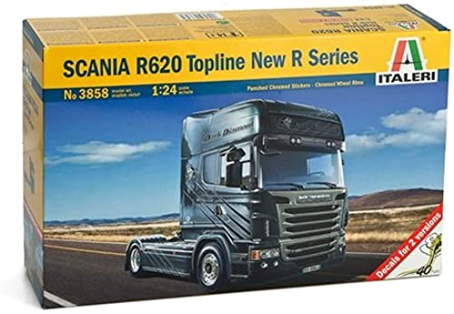 Italeri - I3858 - Maquette - Voiture et Camion - Scania R620 V8 Série R - Echelle 1 24
