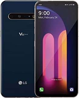 "LG V60 ThinQ 5G LM-V600AM 128GB GSM Unlocked 6.8"" P-OLED DisplayTriple 64MP+13MP+0.3MP Camera Phone Classy Blue"