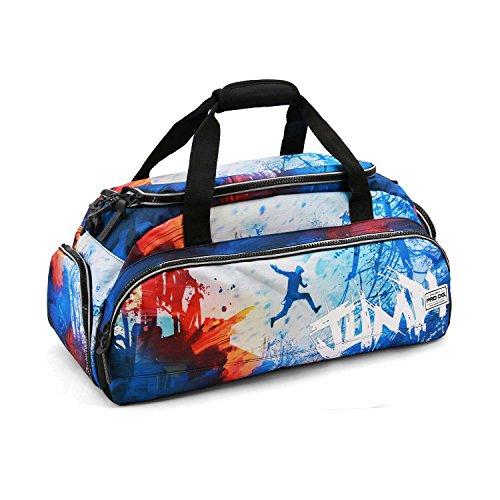PRODG PRODG Jump-Nomad Sports Bag Sac de Sport Grand Format, 57 cm, 13.5 liters, Bleu (Blue)