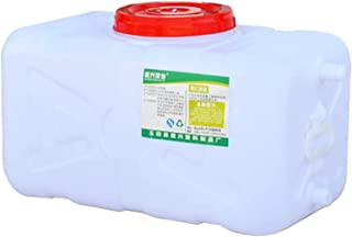 Seau De Rangement En Plastique Rectangulaire Horizontal Ménage De Rangement Avec Couvercle 25l-3100l Tirant De L'eau Top T...