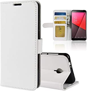 Vodafone smart N9 lite Case Cover,Premium PU Leather Flip Folio Wallet Case with Card Slot,Stand Holder and Magnetic Closu...