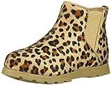 Carter's girls Girl's Ankle Boot, Khaki, 4 Toddler US