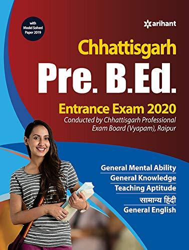 Chhattisgarh Pre. B.Ed. Entrance Exam 2020