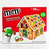 Mad Machines M&M s Holiday House Gingerbread Cookie Kit, 27.8 Oz.