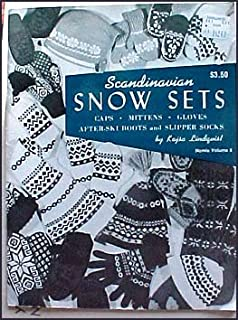 Scandinavian Snow Sets Caps Mittens Gloves After-ski Boots and Slipper Socks