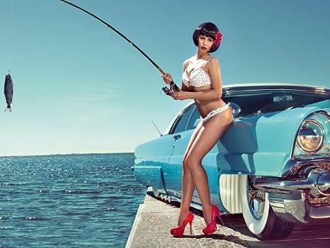 Babes sexy fishing Fishing Girls: