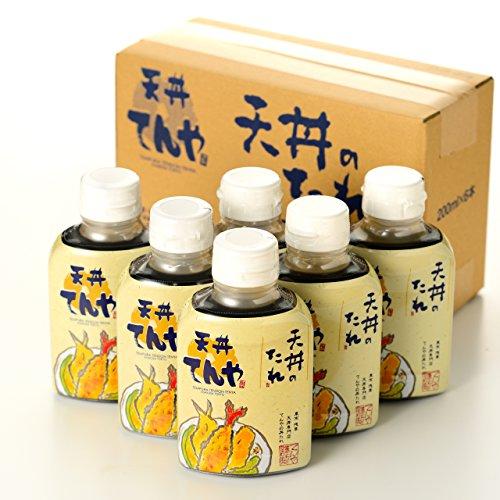 「天丼てんや」天丼のたれ(200ml×6本)