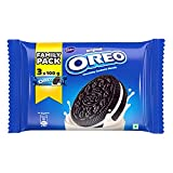 Cadbury Oreo Original Chocolatey Sandwich Biscuits with Vanilla Creme, 300g