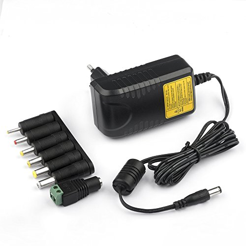 "KFD AC DC Adapter 12V 2A Ladegerät Universal Netzteil für Trekstor 2 in 1 Primetab T13-PO A13B, YITAOERA Y-142E 2020 14,1"" Laptop, Medion Akoya S2217 S2218 E2221T MD E2213, Router, Fritzbox 7390 7490"