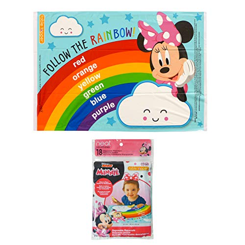 Neat Solutions Table Topper, Minnie Mouse, 18-Count by Neat Solutions