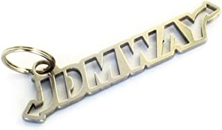 JDMWAY JDM Schlüsselanhänger Keychain aus Edelstahl Tuning   Dub