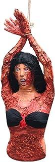 Amosfun Halloween parties du corps suspendus décoration sanglante faux humain parties cassées jambes pour Halloween décora...