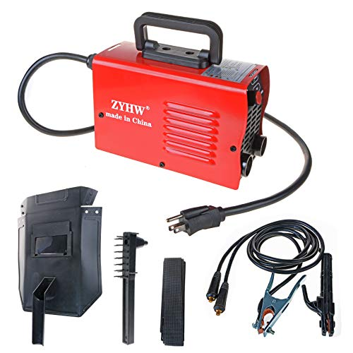 ZYHW 120A Stick MIG Welder Mini MMA Electric Welding Machine IGBT Digital ARC Welder DC Inverter with Shield,110/220V Dual Voltage