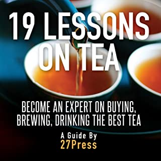 19 Lessons on Tea audiobook cover art