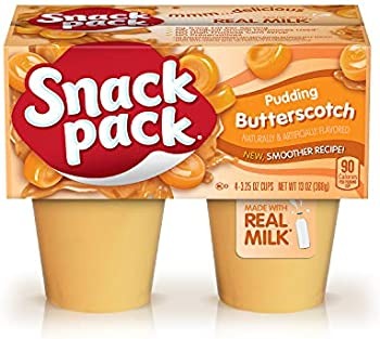 12-Pack X 4-Count Snack Pack Butterscotch Pudding Cups