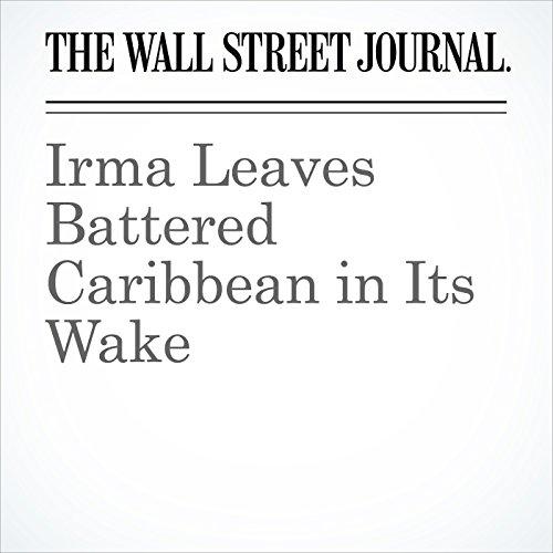 Irma Leaves Battered Caribbean in Its Wake copertina