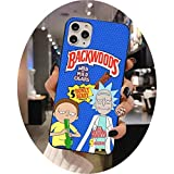 Rick Morty Backwoods Phone Case for iphone 12 pro max mini 11 pro XS MAX 8 7 6 6S Plus X 5S SE 2020 XR case,a2,For iphone12 pro max