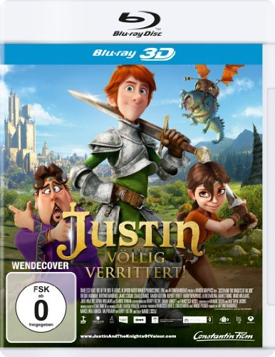 Justin and the Knights of Valour (2013) ( Justin & the Knights of Valour ) (3D) [ Blu-Ray, Reg.A/B/C Import - Germany ]