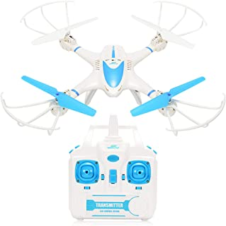 RCtown FPV Drone with WiFi Camera Live Video Headless Mode 2.4GHz 4 Chanel 6 Axis Gyro RTF MJX X400W RC Quadcopter, Compatible with 3D VR Headset