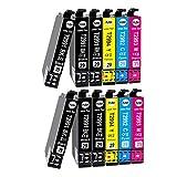 Teland - 12 × Cartucho de tinta compatible para Epson 29 29XL para Epson Expression Home XP-342 XP-245 XP-442 XP-235 XP-335 XP-432 XP-435 XP-332 XP-345 XP-247 XP-445