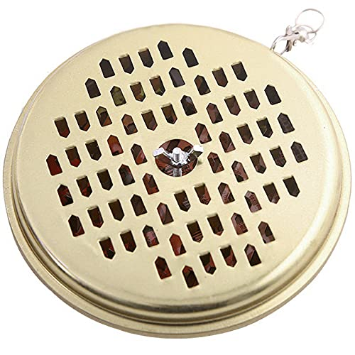 Yicare insent holder Mosquito Coil Holder Portable Mosquito Incense Burner Mosquito Repellent Box for Outdoor Deck Patio Camping Hiking Fishing 14.5CM