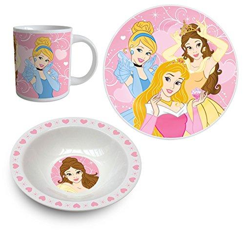 Disney Princess Tea Set of 3