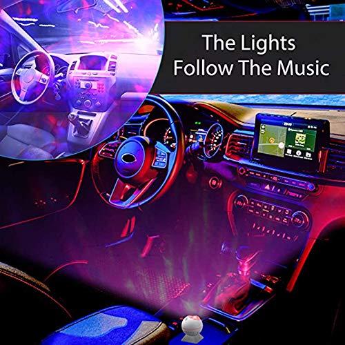 LABYSJ LED Star Light Projector, Ozeanwelle Nachtlicht, Projektor Mini Tragbare Galaxielicht, Mit Fernbedienung Für Schlafzimmer, Zuhause Und Partei, Winkel-Einstellbarer Galaxy-Projektor