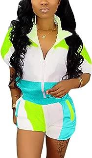 Women 2 Piece Outfits Tracksuit Jumpsuits Rompers Clubwear Jumpsuit Set Two Piece
