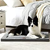 Western Home Dog Bed for Crate, High Resilience Foam Dog Crate Mat Kennel Pad...