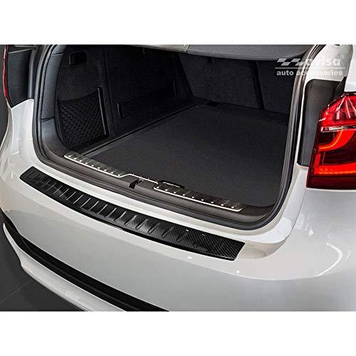 Avisa 2//35341 C8 Avant 2018-Ribs Protezione paraurti Posteriore in Acciaio Inox per Audi A6