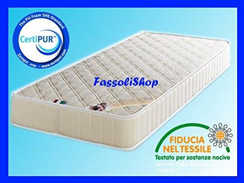 FassoliShop Materasso Water Foam CM 70x200 H14 per Camion Truck