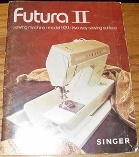 Futura Ii Sewing Machine - Model 920 - Two Way Sewing Surface (Manual)