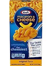kraft Macarrones con queso 206g Clásico (Pack de 3)