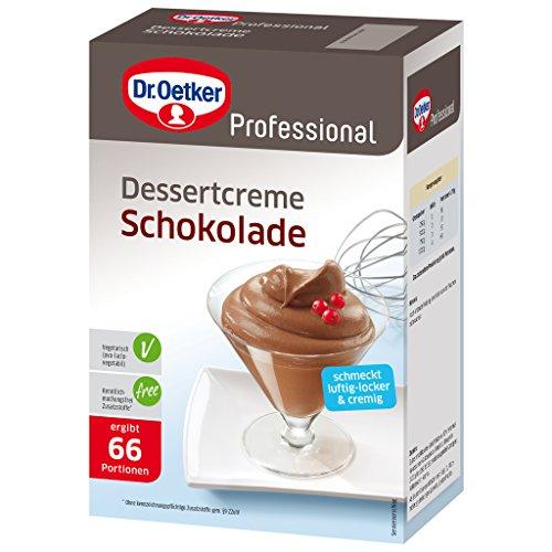 Dr. Oetker Professional Dessertcreme Schokolade, Dessertpulver in 1 kg Packung