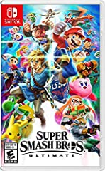 New stages and fighters are joined by the combined rosters of every past Super Smash Bros. game Challenge others anytime, anywhere, whether you're on the couch or on the go Play any way you want—locally, online, in TV mode, Tabletop mode, Handheld mo...