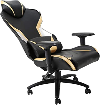 GXDHOME E-Sports Game Chair Ergonomic Executive Racing PU Leather High Back Boss Beauty Massage