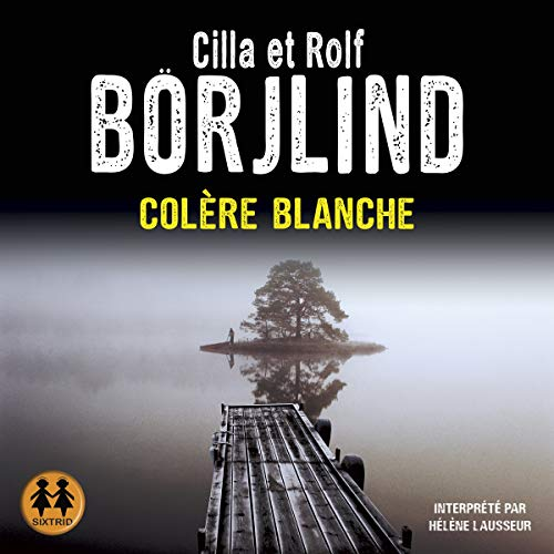 Colère blanche audiobook cover art