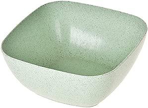 pour riz bonbons Vert Shymaoyi Bol alimentaire de forme carr/ée respectueux de lenvironnement couleur unie soupe fruits