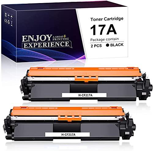 Zambrero Compatibile Toner CF217A Sostituzione per HP 17A CF217A Cartuccia Toner per HP Laserjet Pro MFP-M130nw MFP-M130fw MFP-M130fn MFP-M130a MFP-M130, HP Laserjet Pro M102W M102A M102 (2 Nero)