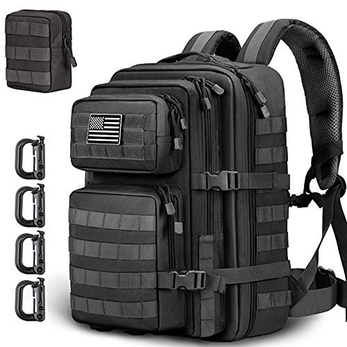 HUNTSEN Military Tactical Backpack Large...