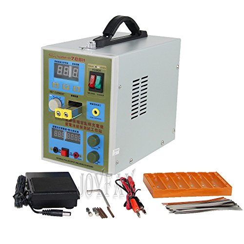 LED Pulse Battery Spot Welder 788H Welding Machine Micro-computer 18650 Battery Charger 800 A 0.1-0.2 mm 36 V with LED light