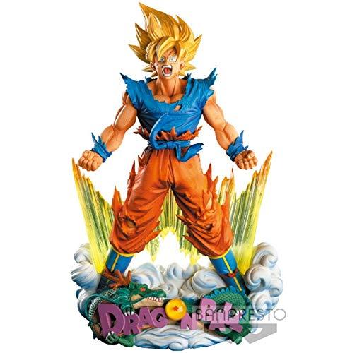 24 cm Dragon Ball Z Super Saiyan Son Goku Anime Figura de acción PVC Nueva colección Figuras Juguetes Colección