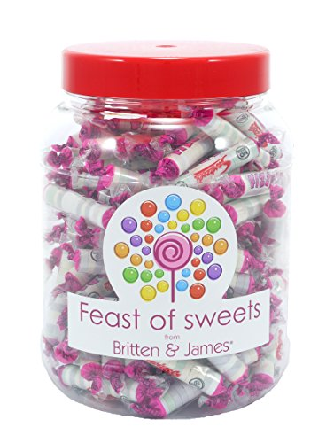 SWIZZELS FIZZERS 800g+. Big Feast of Sweets Jar by Britten & James®. Traditionelle britische Süßigkeiten in einem 2500ml Plastikbecher